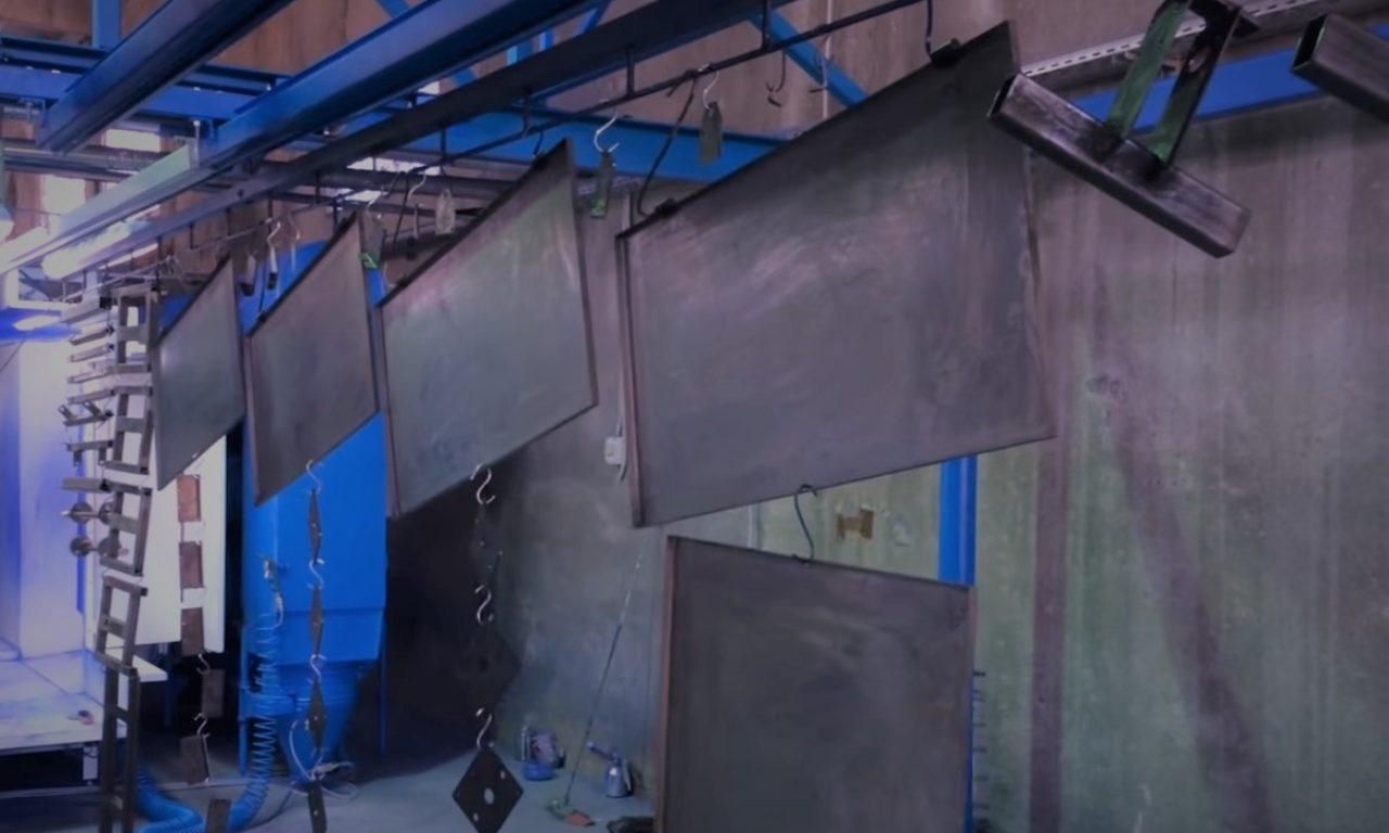 Способы нанесения на металлы